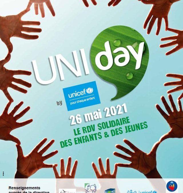 Mobilisation – Solidarité des enfants #UNIDAY2021
